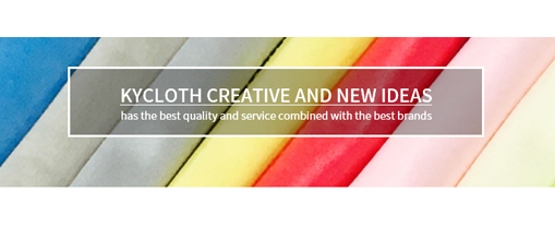 Kycloth co., ltd. is a professional micro-fiber lens cleaning cloth maker and exporter since business in 1992.<br>we have enhanced the quality and the service through unceased technical development and new product and are endeavoring to provide 1:1 service to meet customer' specified requirements.